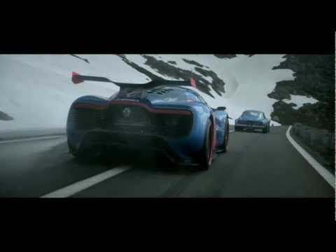 Alpine celebrates 50th Birthday with a drive in the Alps. RENAULT ALPINE A110-50 - The movie with Jean Ragnotti.