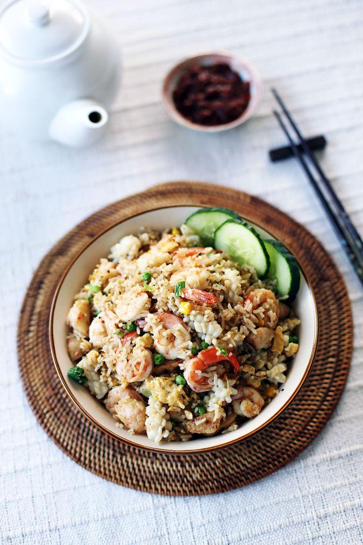 Seafood Fried Rice @angsarap