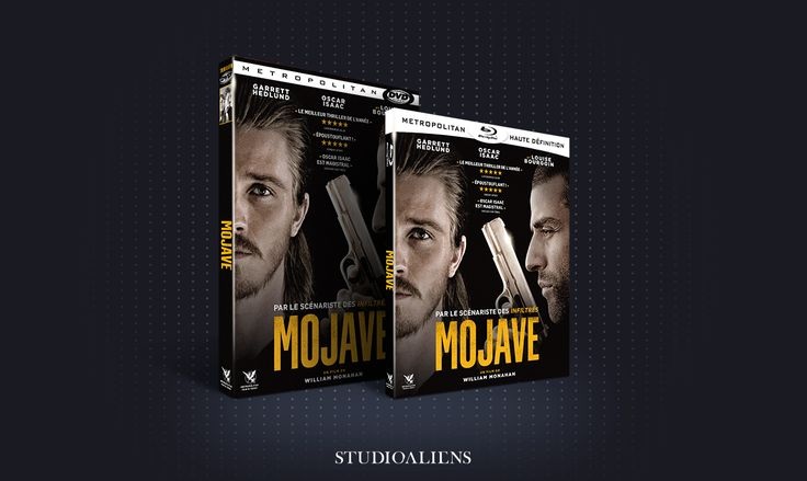 • NOUVEAUTÉ • MOJAVE, DE WILLIAM MONAHAN : Packaging - Bande-annonce #WilliamMonahan #Mojave #Packaging #StudioAliens #Graphisme #Designgraphique #GraficDesign #Cinéma #Film #LouiseBourgoin #MarkWahlberg #Art #Arme