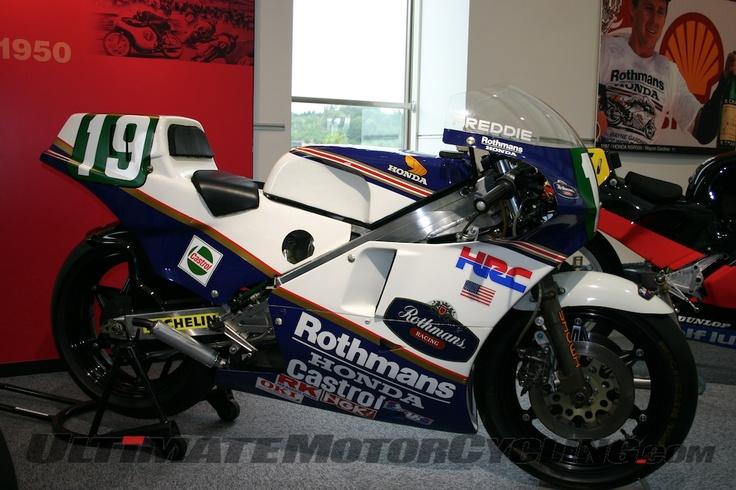 Honda 250 Championship winner... Spencer.