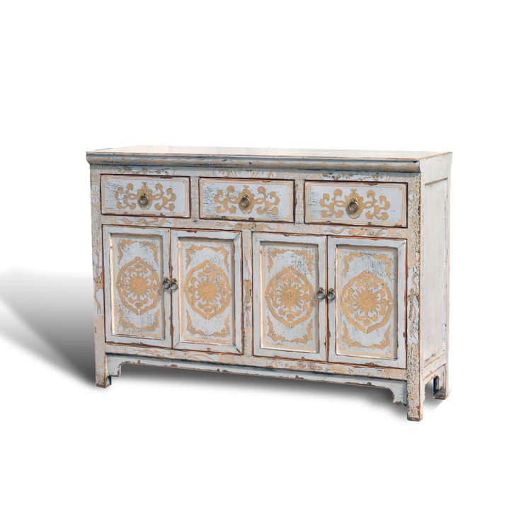 This sideboard with a slightly exotic touch is carefully hand distressed  and then embelished with gold. Modern Buffet TableBuffet ... - Top 25+ Best Modern Buffet Table Ideas On Pinterest Magnolia