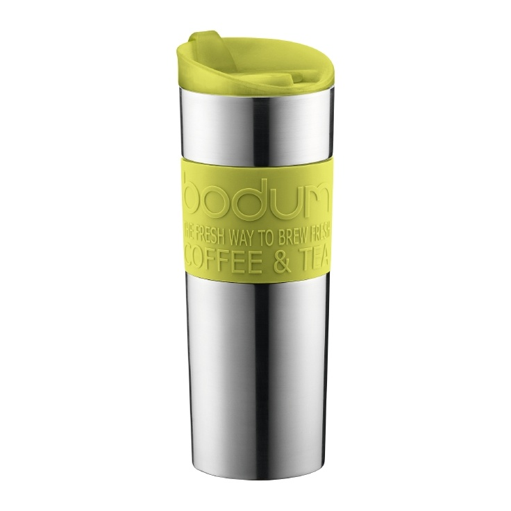 Bodum Vacuum Travel Mug Green