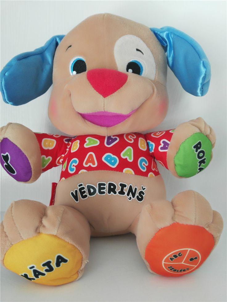 Latvian Estonian Romanian Slovene Lithuanian Swedish Speaking Singing Toy Musical Dog Doll Baby Educational Stuffed Puppy Toy