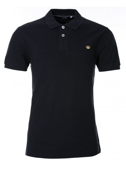 Twisted Soul Mens Dark Navy Dry Polo Shirt