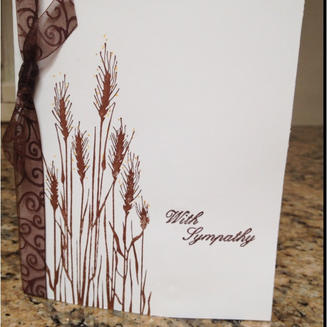 This is a card I made