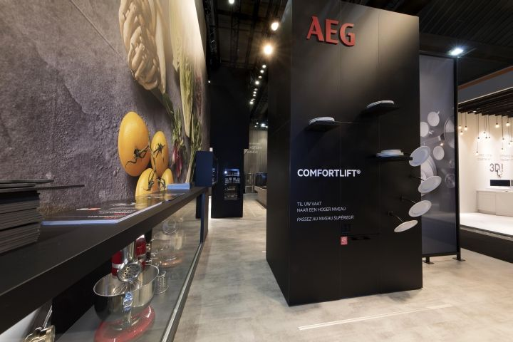 AEG Stand at Batibouw 2017 by A&B Project, Brussels – Belgium » Retail Design Blog