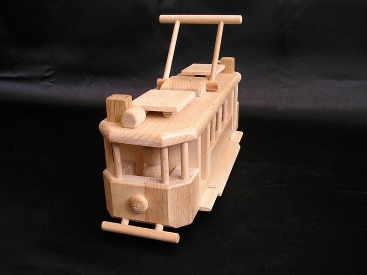 Tramway wooden toys. 39,99 € Natural handmade wooden toy Czech production. Lacquered natural wax, Children safe. www.soly-toys.com