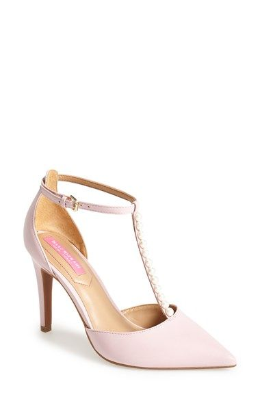 Isaac Mizrahi New York 'Luna' Patent Leather T-Strap Pump (Women) | Nordstrom