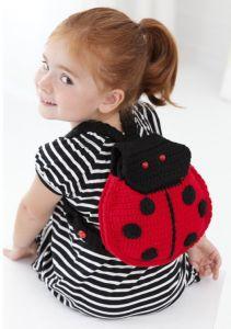 Mochila Mariquita - Ladybug backpack (in Spanish)