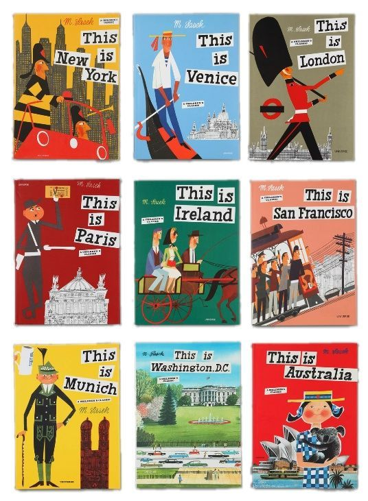 "{Travel books for kids} The ""This Is. . ."" series. We love these books and I am so excited to have finally collected a bunch of the titles for our family! Excellent holiday gift idea."