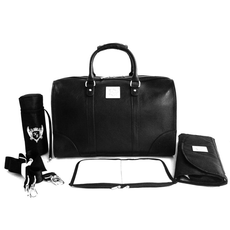 all accessories included with our bags. changing mat bag, bottle warmer, stroller straps, shoulder strap, wet pouch