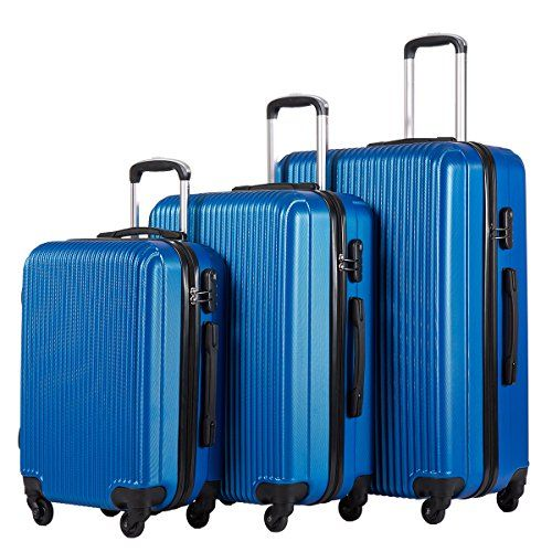 Coolife Luggage 3 Piece Set Suitcase Hard Shell Lightweight 20inch 24inch 28inch - http://affordable-handbags.mugambogroup.com/coolife-luggage-3-piece-set-suitcase-hard-shell-lightweight-20inch-24inch-28inch/