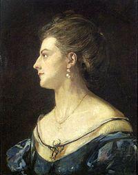 Madarász Viktor – felesége