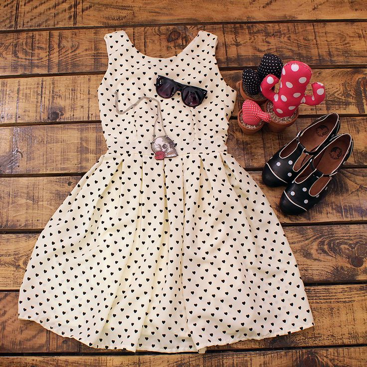 #dress #polkadots #hearts #laveintinueve #barcelona #boutique