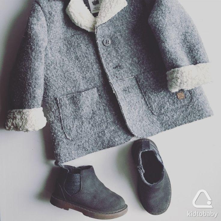 Пальто (р.92) и ботинки Zara (р.21, по стельке 16 см), идеальное состояние, 3 000 ₽🌿