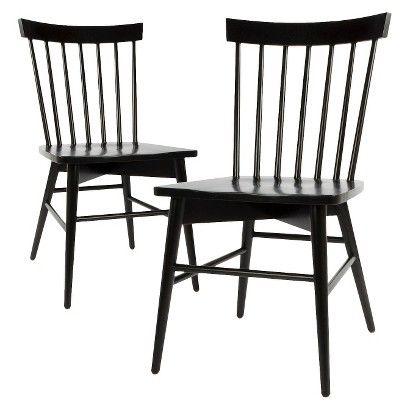 Threshold™ Windsor Dining Chair (Set of 2) - Black