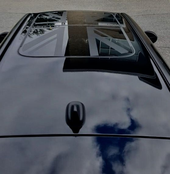 Gorgeous sunroof decal completed by Speedpro Imaging Ottawa!