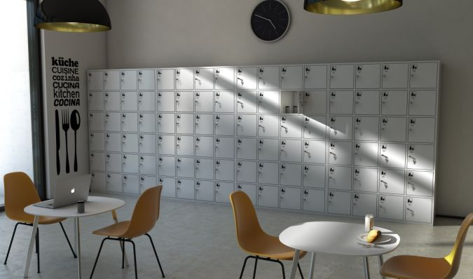 Staff Lockers - Small metal lockers - Personal protection equipment storage lockers - ATEPAA® Clothes lockers manufacturer