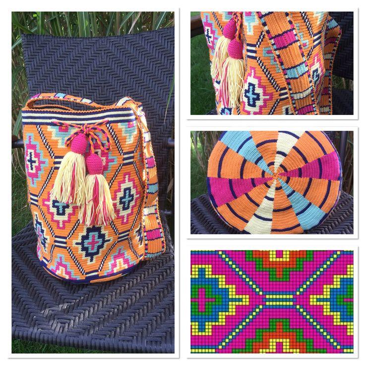 Wayuu Mochila bag pattern