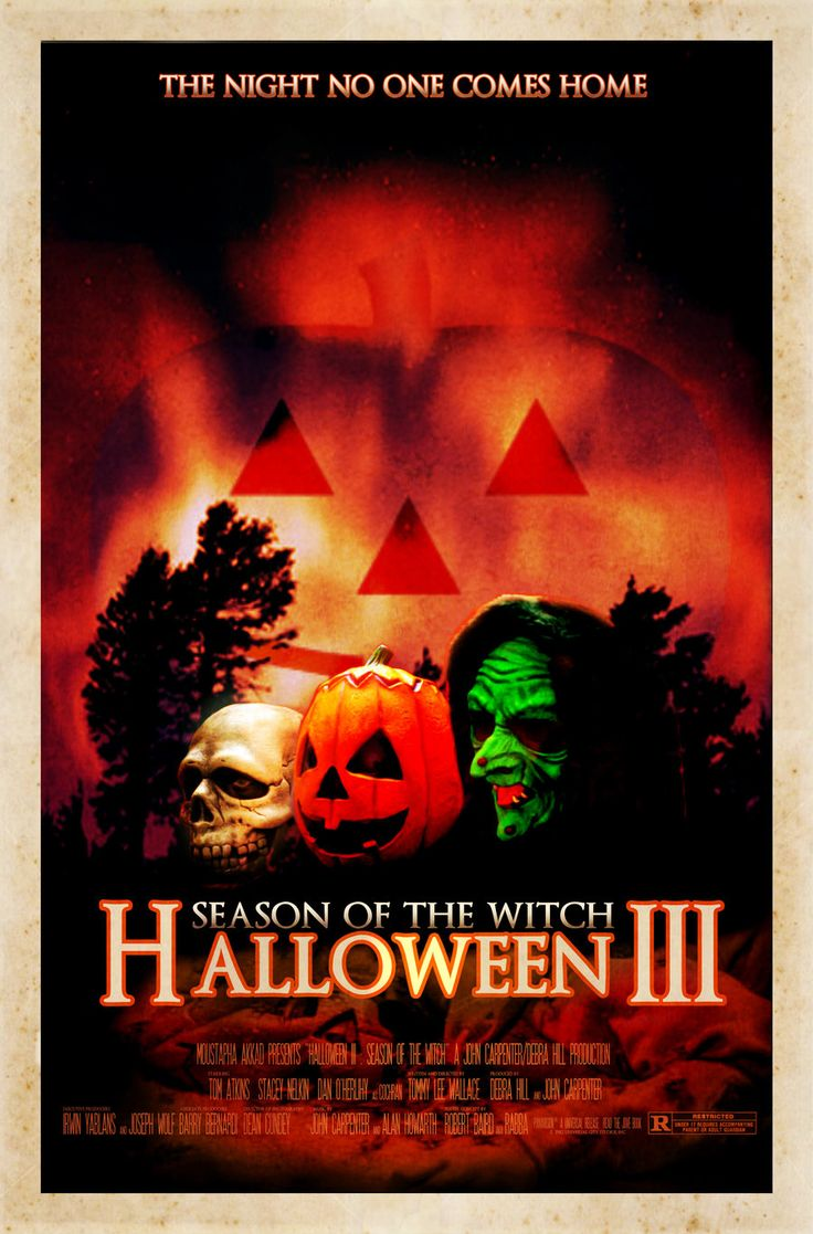 Halloween 3 : le sang du sorcier / Halloween III : season of the witch de Tommy LEE WALLACE (1983)