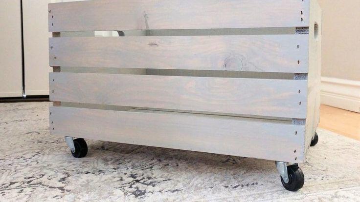 Verwandeln Sie Holzkisten in DIY Toy Storage | Angies Liste   – Organization