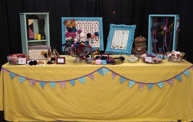craft show setup idea