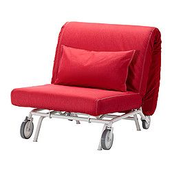 Ikea Ps L 214 V 197 S Chair Bed Vansta Red Ikea Interesting