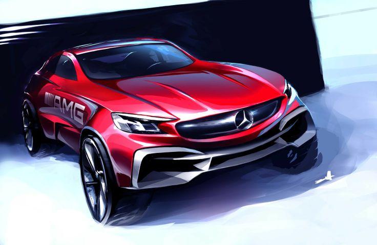 Les 392 meilleures images du tableau car sketches sur pinterest croquis voiture concept - Croquis voiture ...