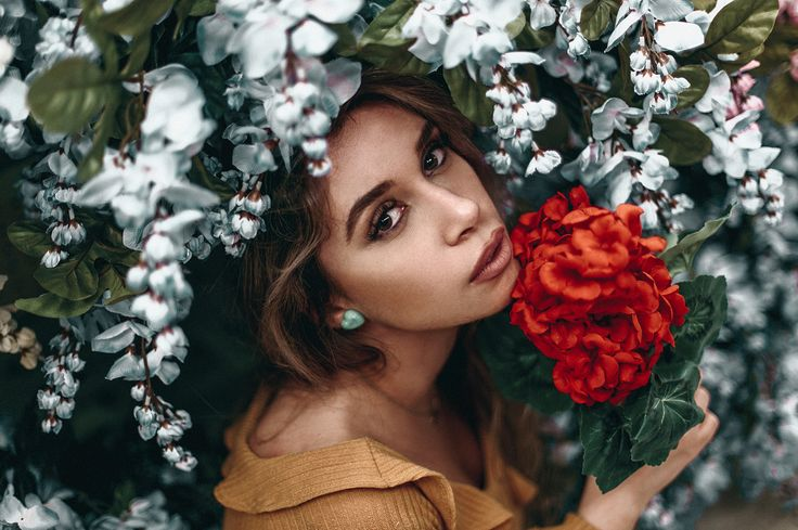 I took these photos inside hobby lobby at the flower aisle  funniest lighting and setup ever. honestly one of the more difficult challenges I've done, check out the video on my YouTube channel to see how I got these shots + see the full set! What do you guys think? Did I do okay?
