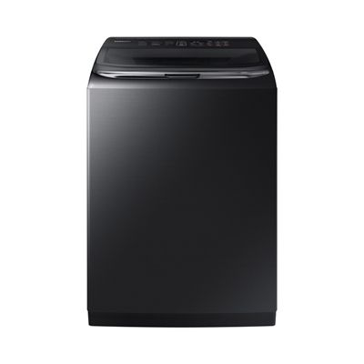 Samsung 6.2-Cu Ft High-Efficiency Top-Load Washer (Black Stainless) ENERGY STAR