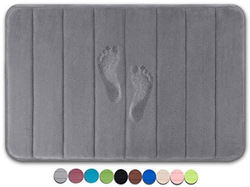 25f7cd176b5 Yimobra Original Memory Foam Bath Mat Large Size 31.5 by 19.8 Inch