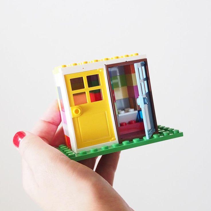 フェスのトイレ/toilet #レゴ #自作レゴ #lego #toilet #festival #フェスのトイレ #オリジナルレゴ