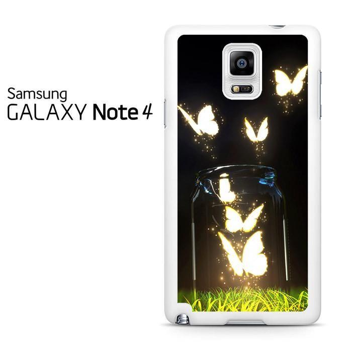 Fantasy Butterfly Jar Samsung Galaxy Note 4 Case
