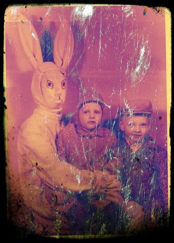 Best Dressing Up Like A Bunny WTH Images On Pinterest - 26 creepy easter bunnies