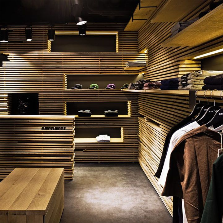 Carhartt store by Francesc Rifé, Barcelona store design