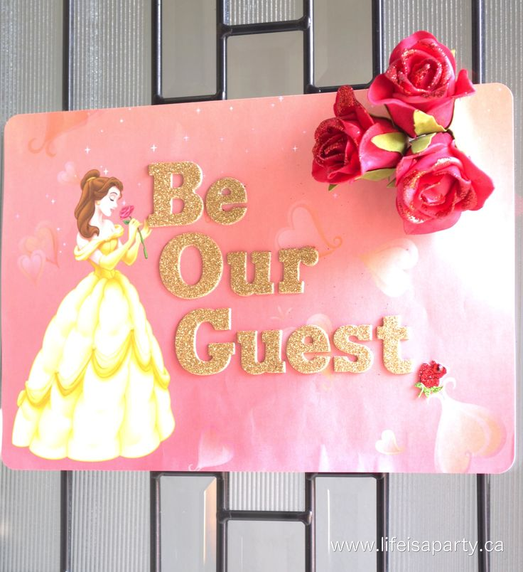 Beauty and the Beast Party -An amazing Beauty and the Beast themed birthday party, with amazing decorations, and home made party food that all fit the theme.  Lots of amazing ideas here and lots of them made out of simple dollar store items.