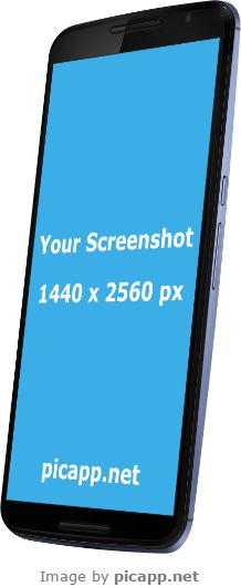 Place your app screenshot in this Google Nexus 6 with just one click. FREE DOWNLOAD. on Picapp.net. Everything it's easy and fast. Also Picapp.net has a large library of frames. #GoogleNexus6 #nobackground #GoogleNexusBlack #mock