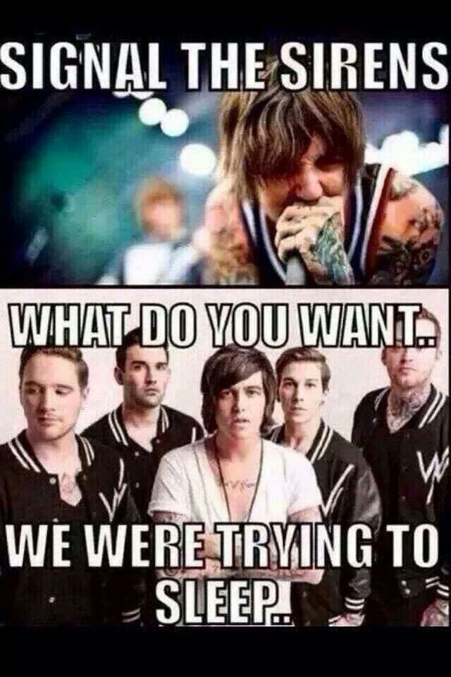 Signal the sirens, rally the troops, ladies and gentlemen, it's the moment of truth! XD #Bmth #Sws