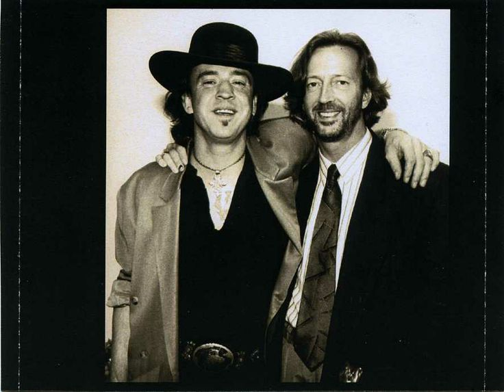 stevie ray vaughan images | ... Posted in Stevie Ray Vaughan Tagged Eric Clapton , Stevie Ray Vaughan
