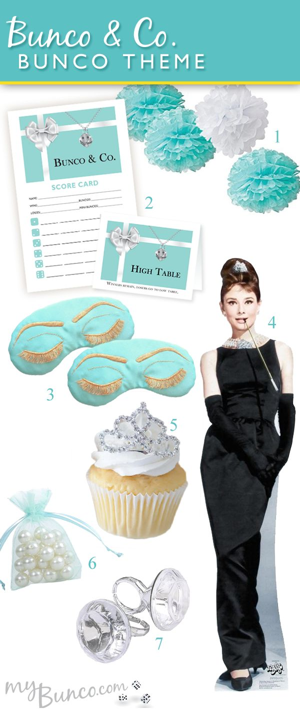 tiffanys bunco theme