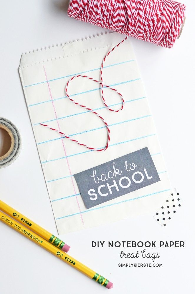 Best  Notebook Paper Ideas On   Diy Notebook Bag Diy