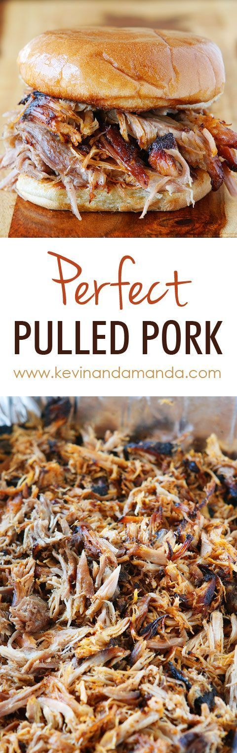 How to make authentic Southern Pulled Pork - from KevinandAmanda.com