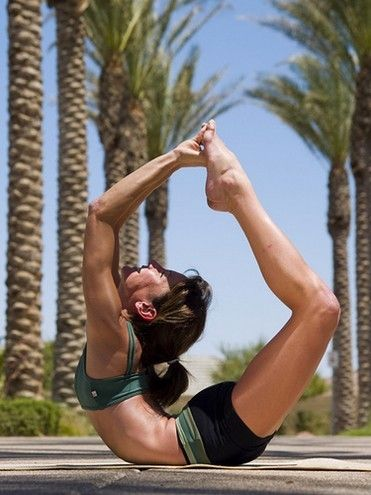 One of the hardest poses in hot yoga..the arrow...