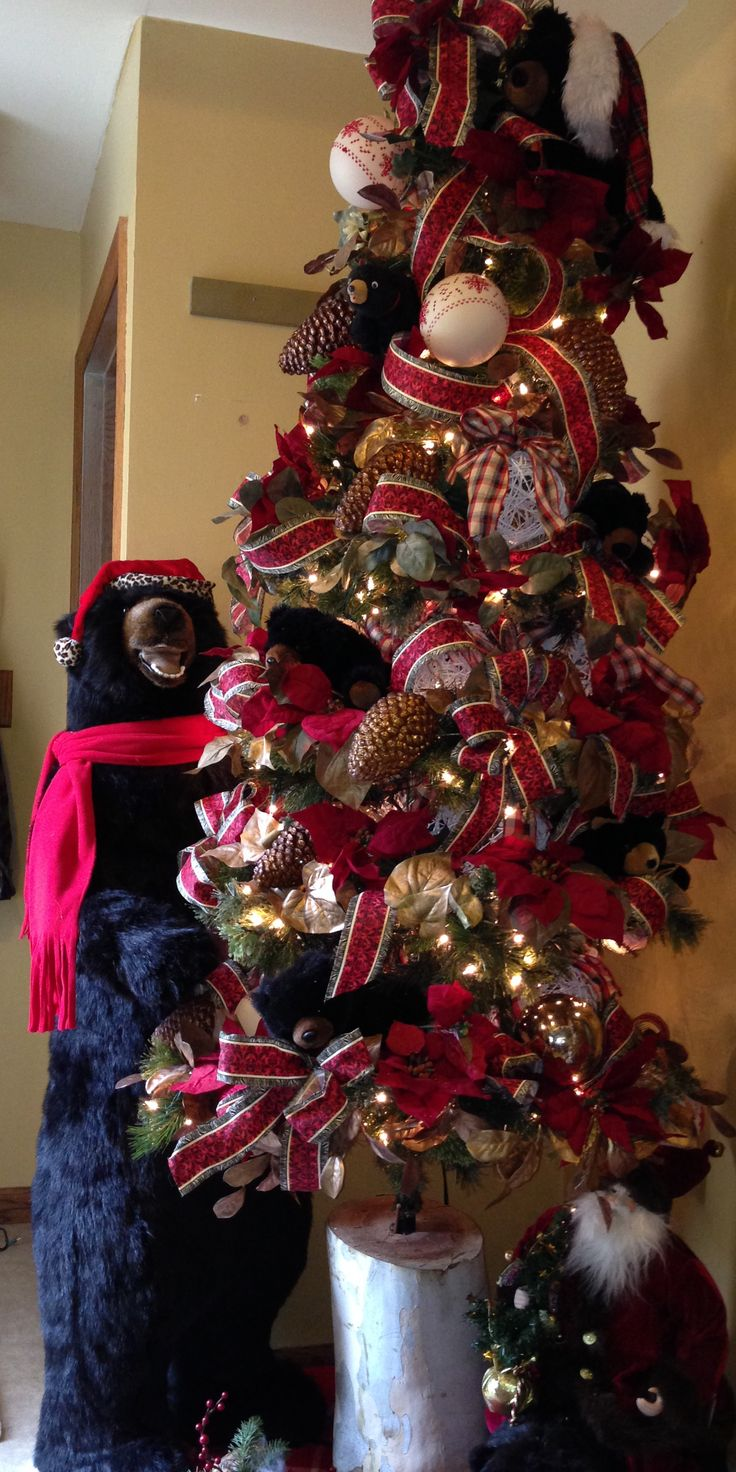 67 Best Images About Black Bear Christmas On Pinterest Christmas Trees Close Up And Wood