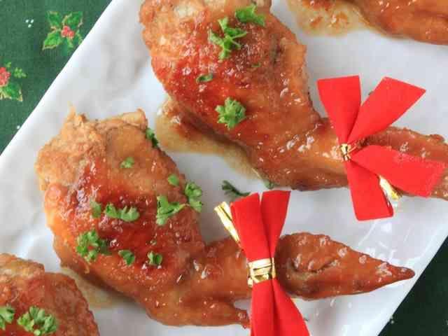 クリスマスにお手軽★手羽先チキンの詰め物の画像