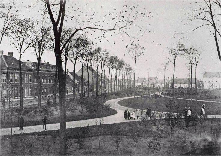 106 Wilhelminapark 1898 Eerste aanleg vh park.