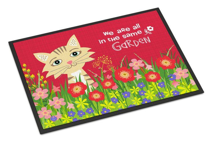 Garden Cat Indoor or Outdoor Mat 18x27 VHA3009MAT