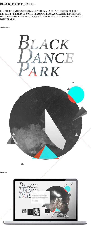 Black_Dance_Park. Logo by Igor Dolgov
