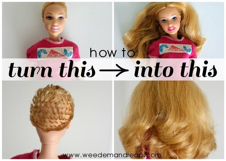 How To Style Barbie Hair Alluring Best 25 Barbie Hair Ideas On Pinterest  Barbie Doll Head Doll .