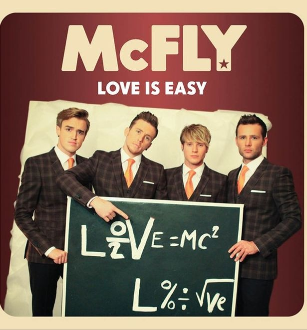 Hot McFly news! They reveal cover artwork for new single